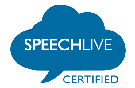 SpeechLive Certified